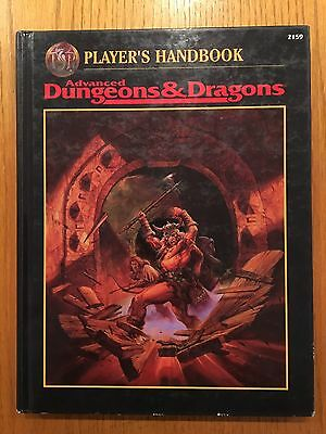 Advanced Dungeons & Dragons - 2nd Edition Player's Handbook - AD&D TSR
