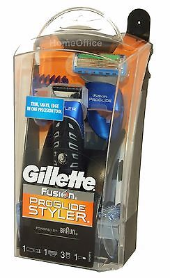 Gillette Fusion ProGlide Battery Styler 3-in-1 Shaver / Beard Trimmer Clam Pack