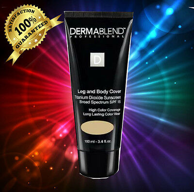 Dermablend Leg and Body Cover with SPF 15 Sunscreen BRONZE 3.4 fl oz (100 ml)NIB