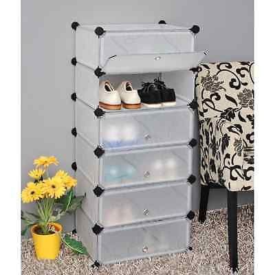 ts-ideen - Plug in shelf stacking rack shelves chest cabinet closet cupboard for