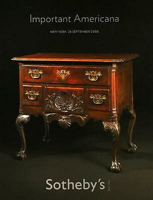 Sotheby's / Important. Americana Furniture Auction Catalog 2008