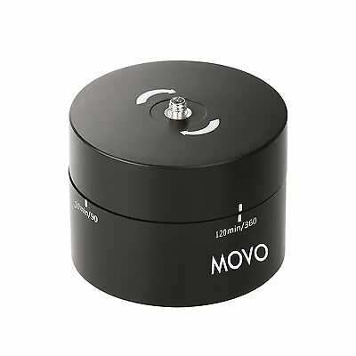 Movo Photo MTP2000 360°/120' Time Lapse Tripod Head for DSLR GoPro & Smartphone
