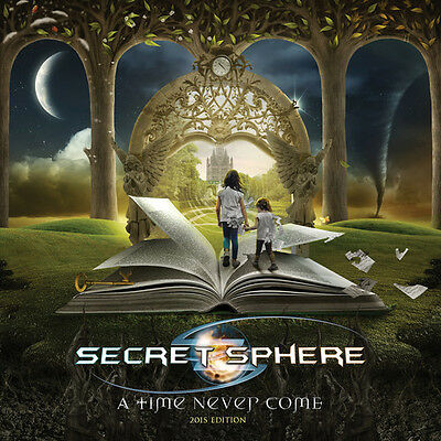 Secret Sphere - Time Never Come [New CD]