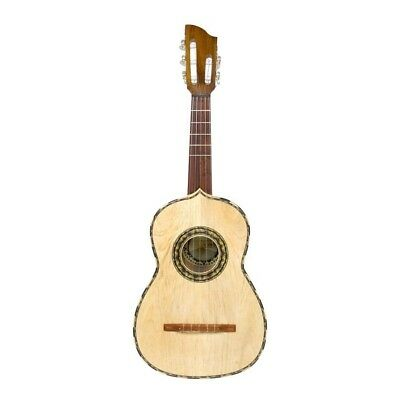 New Paracho Elite VIHUELA Acoustic 5-String Guitar with Gig Bag + Free Shipping