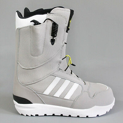Adidas Zx500 Snowboard Boots Solid Grey / White / Solar Yellow