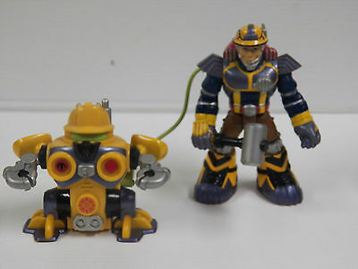 Fisher Price Rescue Heroes Jack Hammer & Rive