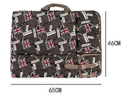 1pc British Flag Pattern Art 4K Canvas Drawing Board Portfolios Case 46 x 65CM