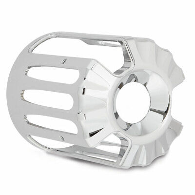 Arlen Ness Chrome Deep Cut Oil Filter Cover for Harley Twin Cam Models