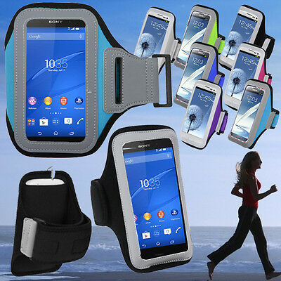 For Apple iPhone XR 8 7 6s Armband Sport Jogging GYM Run Workout Case Holder