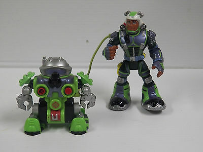 Fisher Price Rescue Heroes Rocky Canyon & Tectonic