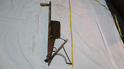 ANTIQUE HAND HELD CORN/SEEDER PLANTER Sheffield Mfg Co, Burr Oak, Michigan USA