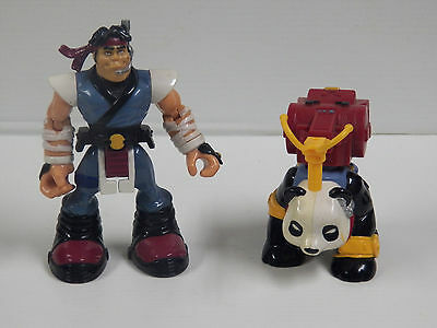 Fisher Price Rescue Heroes Marshall Artz & Akido
