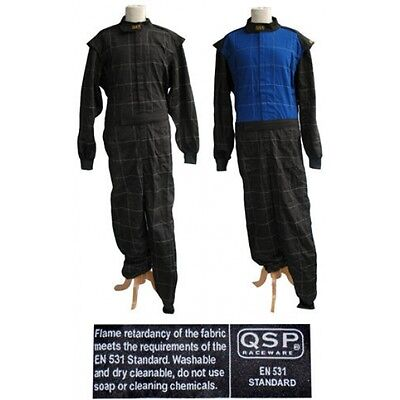 QSP Race / Karting Suit EN531 Black / Black #58