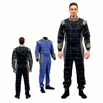QSP Race / Karting Suit EN531 Plus Grey / Blue #50