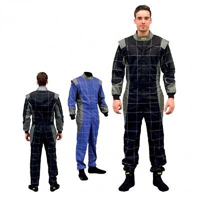 QSP Race / Karting Suit EN531 Plus Grey / Blue #58