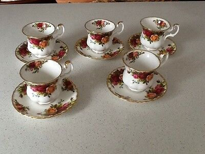 10 Piece Coffee Cups & Saucers