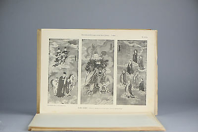 Antique ca1900 Prints of Chinese PL6-7-8  Paintings on Paper Musee Guimet China