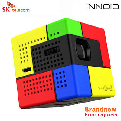 New SK UO Smart Beam Art Mini Pico Laser Projector DLP LED Smartphone