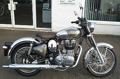 Royal Enfield Classic Chrome Motorcycle NEW & Unregistered (Athena Grey)