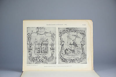 Antique ca1900 Prints Chinese Art PL35-36 Chinoiserie Painting China Qing
