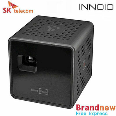 New SK UO Smart Beam Portable Mini Projector 1.77-inch, Black + Free Shipping