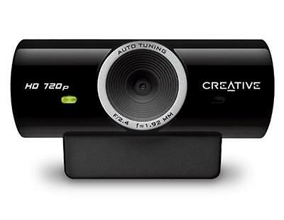 Creative Labs Live! Cam Sync HD Webcam -Personal/Business - 1280 X 720 Pixels, 7