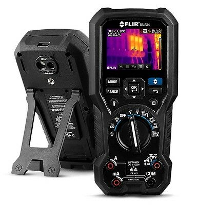 FLIR DM284 Wärmebild + digital Multimeter 18 Funktionen 160x120 Thermal Imager