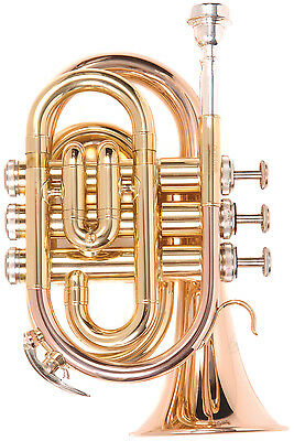 Odyssey Premiere OCR100P Pocket Trumpet Outfit