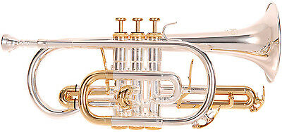 Odyssey Premiere Silver Plated 'Bb' Cornet - Includes Denis Wick Mouthpiece