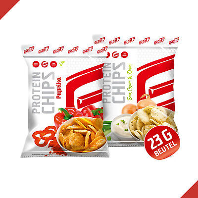 GoT7 High Protein Chips 50g Tüte Eiweiß Snack Low Carb Low Fat Fitness Food
