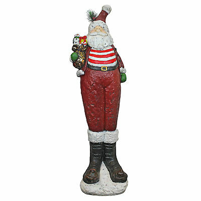 Design Toscano Chillin' with Santa Claus Holiday Statue