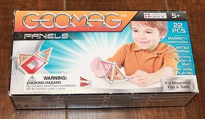 New Geomag Panels 22 Piece Construction Set J32
