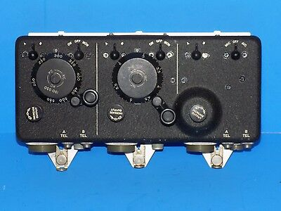 Vintage Military C-43 Control Box For Arc-5 Command Set Transmitters, Receivers