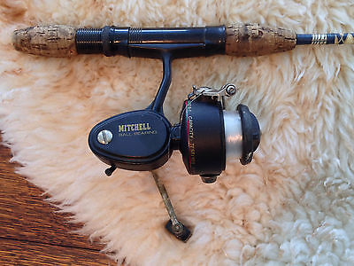 """48"""" Clearwater Fishing Rod with Mitchell 308 Spinning Reel, Used but Good"""