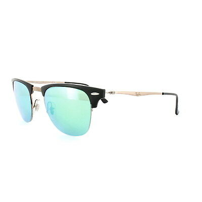 10e2447b8a Ray-Ban Sunglasses Clubmaster Light Ray 8056 176 3R Black Brown Green Mirror
