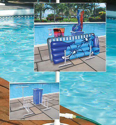 HYDRO TOOLS 8903 Swimming Pool Side Organizer For Towels ...