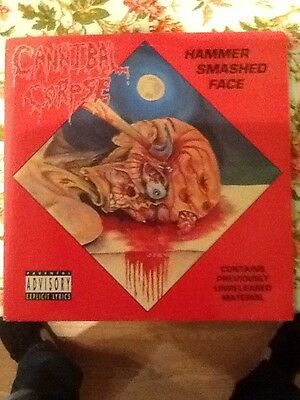 Cannibal Corpse Hammer Smashed Face Vinyl EP 1993 MZORRO 57