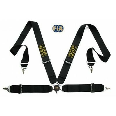 QSP Budget Harness 4-point Black