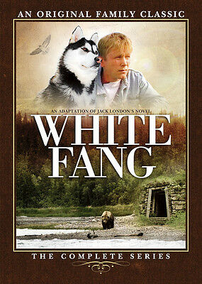 White Fang: The Complete Series - 2 DISC SET (2016, DVD NEW) 096009458348
