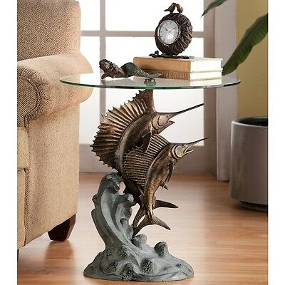 SPI Home Collection Marlin & Sailfish Table