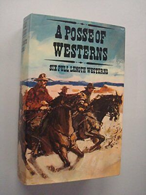 Posse of Westerns, etc. Hardback Book The Cheap Fast Free Post