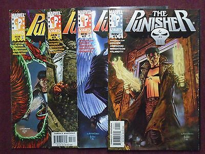 Punisher (1998 4th Series) #1-4 - NEW/NM - 1998-1999