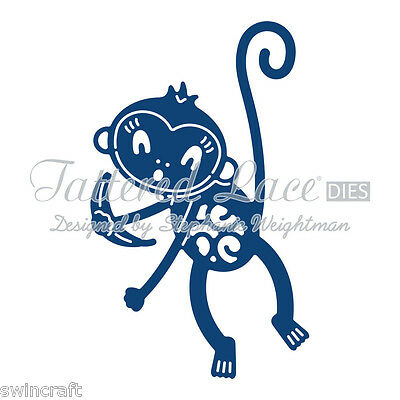 Tattered Lace Cutting Dies MONKEY D753 Stephanie Weightman REDUCED