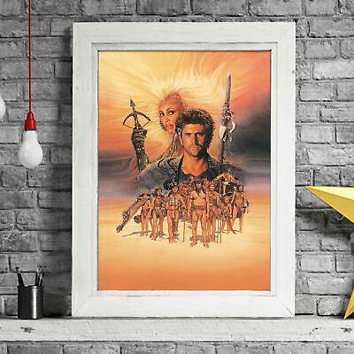 MAD MAX - Gibson Cult Poster Picture Print Sizes A5 to A0 *FREE DELIVERY**