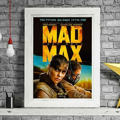 MAD MAX - Hardy Cult Poster Picture Print Sizes A5 to A0 *FREE DELIVERY**