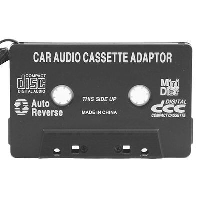 New In Car Audio Tape Cassette To Jack AUX For iPod MP3 iPhone Converter Adap...