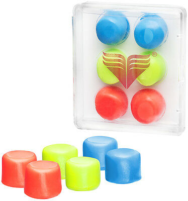 Tyr Tyr Youth Multi Silicone Ear Plugs   Assorted