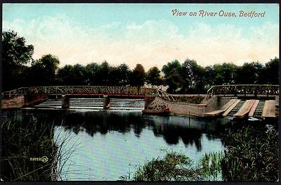 Postcard - Bedfordshire - View On River Ouse, Bedford