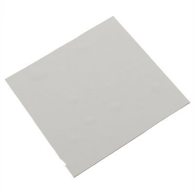 100mmx100mmx0.5mm GPU CPU Heatsink Cooling Thermal Conductive Silicone Pad ZX
