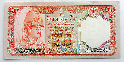 Nepal 20 Rupees 1988 Gem UNC Banknote. Pick 38a
